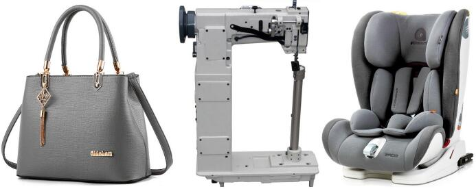 High Post Bed Heavy Duty Lockstitch Sewing Machine -2