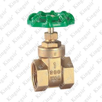10 Years manufacturer for Brass Gate Valve W.O.G Brass Gate Valves export to Cocos (Keeling) Islands Exporter