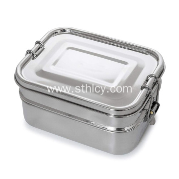 Stainless Steel Lunch Box 3-In-1Ecofriendly Durable Lunchbox