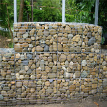 Galvanzied hexagonal woven gabion mattress