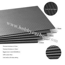 3K Carbon Fiber Sheet 2mm Bottle Openner
