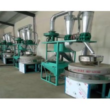 Best Quality for China Stone Mill Flour Machine,Large Stone Mill Machine,Stone Milling Machine Manufacturer and Supplier 2 sets of round sieve small stone mill export to Gambia Importers