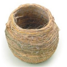 Pot Shape Large Straw Bird Nest