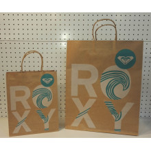 OEM for Brown Kraft Paper Bag With Twist Handle Christmas Kraft Paper Gift Handbag export to Germany Supplier