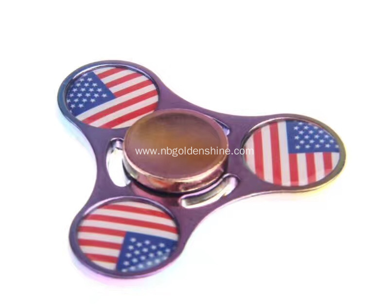 Metal And Epoxy Hand Spinner