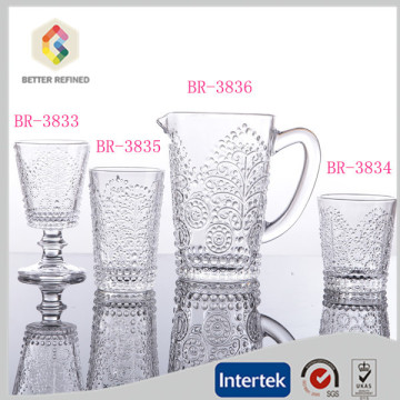 Customized for Multifunction Mixing Cup Sets Lead free crystal glass water cup export to Guinea Manufacturers