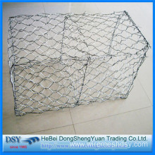 Hexagonal Galvanized Gabion Box with Low Price