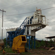 Factory provide nice price for 50 Portable Concrete Plants 50 Hot Sell Mobile Concrete Plant supply to Madagascar Factory