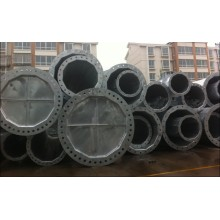 110kV Galvanized Steel Power Pole