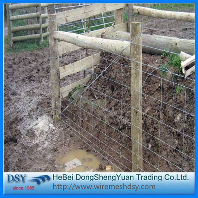 Galvanized cattle and sheep andlivestock farm fencing