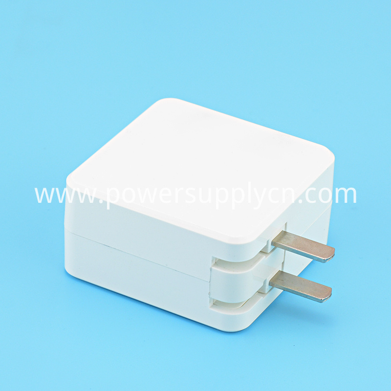 12V 2A Foldable Plug Power Adapter