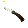 Perfect Inlay Handle  Folding Wooden  Knife