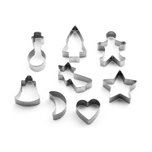 Best Quality for Cookie Cutter stainless steel cookies mold 8pcs export to Germany Wholesale