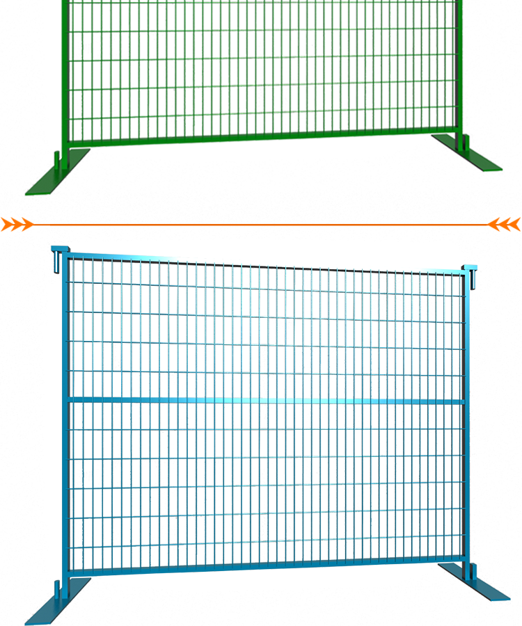 6ft x10ft Canada Standard Temporary Fence