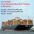 Shantou Sea freight shipping container to Brisbane