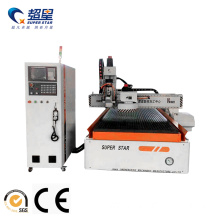 Hot selling attractive price for Auto Tool Changer Woodworking Machine CNC Woodworking Router with automatic tool changer export to Ghana Manufacturers