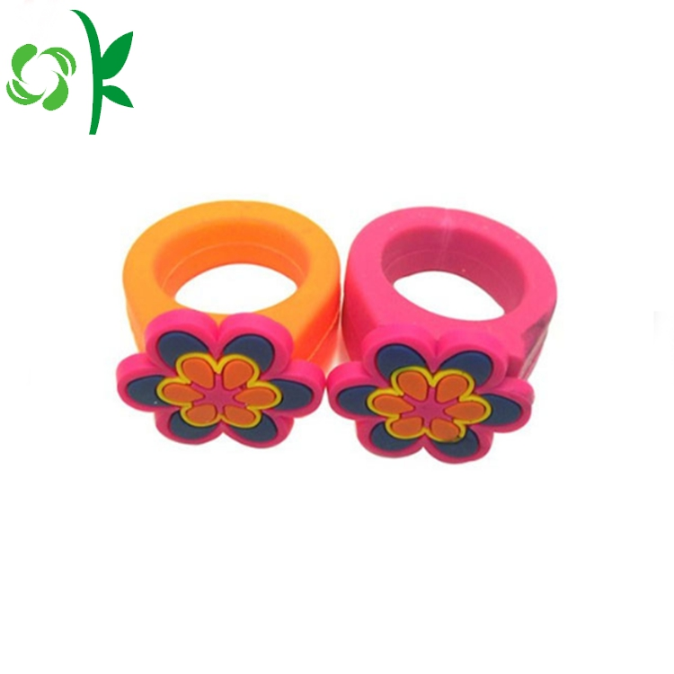 Silicone Flower Shape Ring