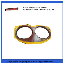 Top Suppliers for Concrete Pump Wear Plate,  Concrete Pump Cutting Ring, Concrete Pump Wear Ring Manufacturer in China PM concrete pump wear plate wear ring supply to Palau Manufacturer
