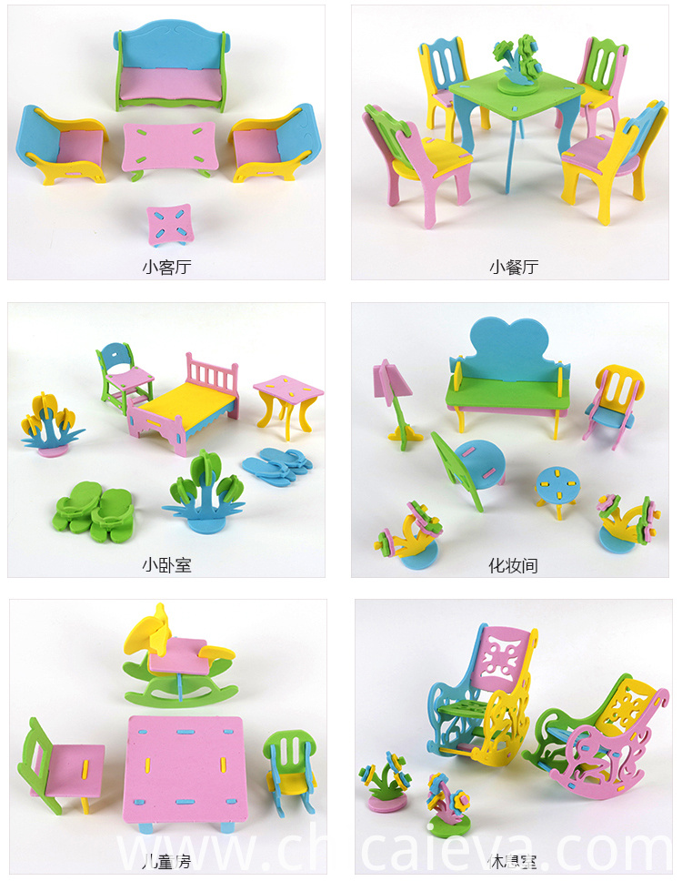 EVA furniture toy