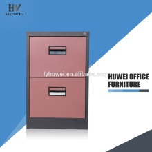 High Quality Industrial Factory for Steel Filing Cabinet Vertical Two Drawer Cabinets Steel File Cabinet export to Lebanon Wholesale