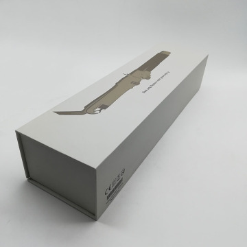 Custom Book Shaped Hair Tong Paper Packaging Box