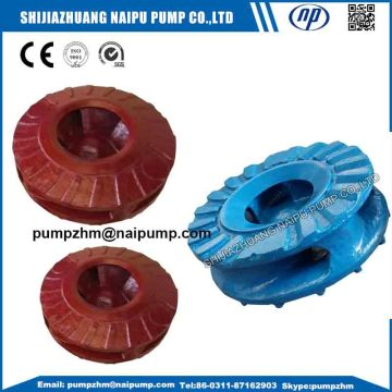 AH pump large impellers