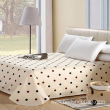 Good Quality for Bleached Sateen Sheets Cotton Percale Printed Bed Sheets export to Germany Manufacturer