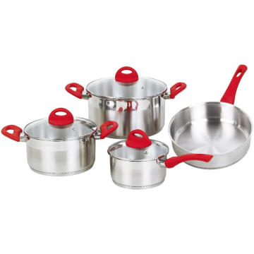 Cookware Set with Bakelite Heat Resistant Handles