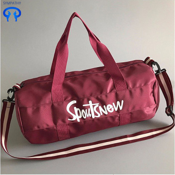 Travel bag non-woven large capacity duffel bag short