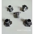 Riveted  carbon steel M6X12 T-nuts