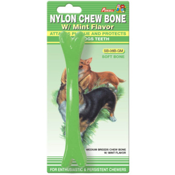 "Percell 6"" Soft Chew Bone Mint Scent"