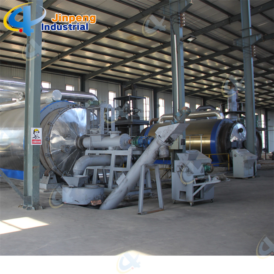 scrap tyre recycling production line