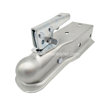 Trailer Coupler For Deck Over Trailer
