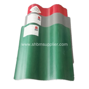 Fire-Proof Glazed MgO Roofing Tiles
