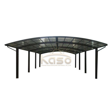 Carport FlatAluminium Canopy Car Garage For 12 Car