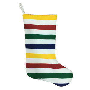 Fixed Competitive Price for Knit Christmas Stockings Christmas stripe stocking with rainbow style export to Russian Federation Manufacturers