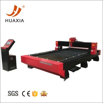 CNC plasma cutter with plasma table coolant