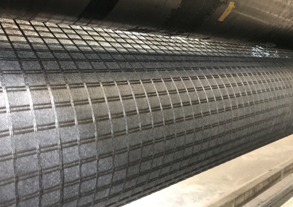 Composite Polyester Geogrid For Pavement Reinforcement