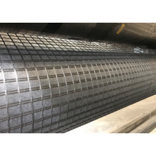Warp Knitted Fiberglass Geogrid Reinforcing Fabric