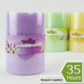 Scented Garden Citronella Mosquito Repellent Pillar Candle