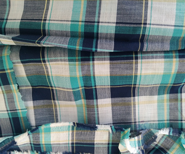 Soft Comfortable Yarn Dyed Cotton Fabric5