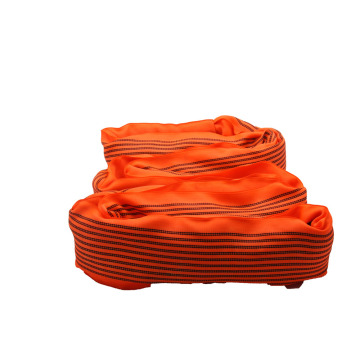 10 T Endless Crane Orange Polyester Round Sling