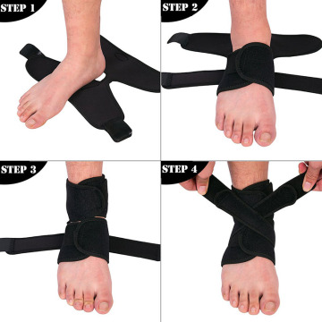 Lace Up Neck tobillo contra sprain