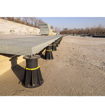 height support adjustable plastic pedestal for stones