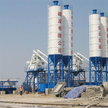 Construction mini stationary automatic batching plant