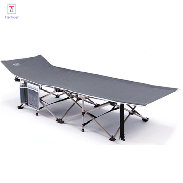 Best quality and factory for Folding Bed Lightweight steel tubes Portable Camping Bed Folding Single Bed Wholesale supply to South Africa Wholesale