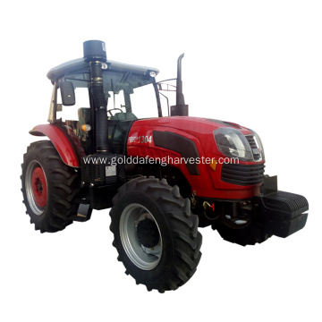 enhanced gearbox 130hp self-propelled wheeled tractor