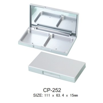 Empty Plastic Magnet Square Eyeshadow Case