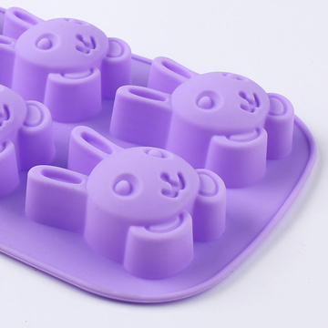 Rabbit Shape Silicone Cake Mold