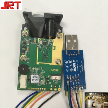 RS232 Warehouse Logistics Laser Distance Sensor Module